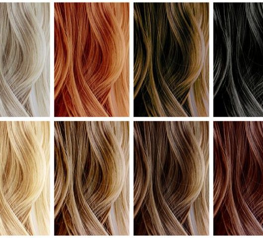 different hair dyes