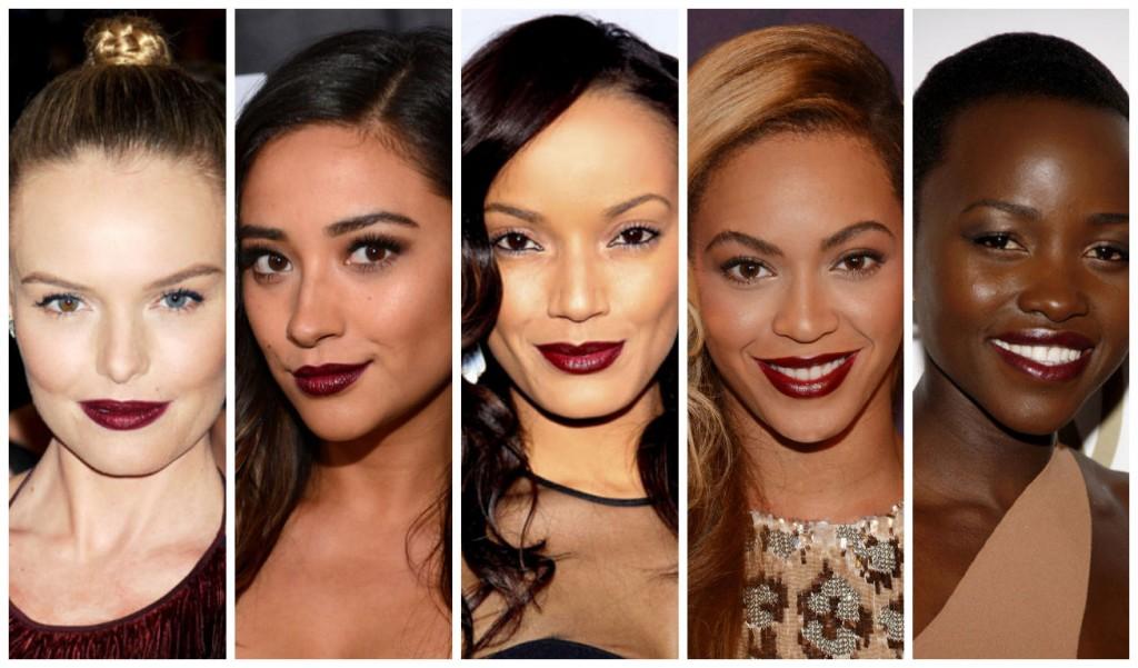 Eye makeup for dark skin tones
