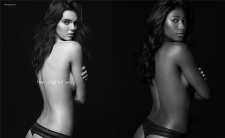 kendal jenner vs deddeh howard photoshoot