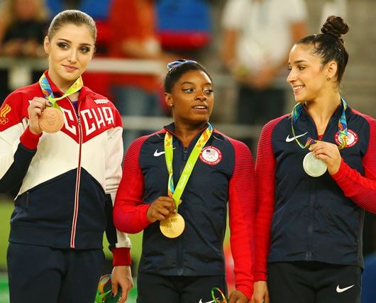 group of olympians
