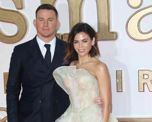 Tatum and wife Jenna
