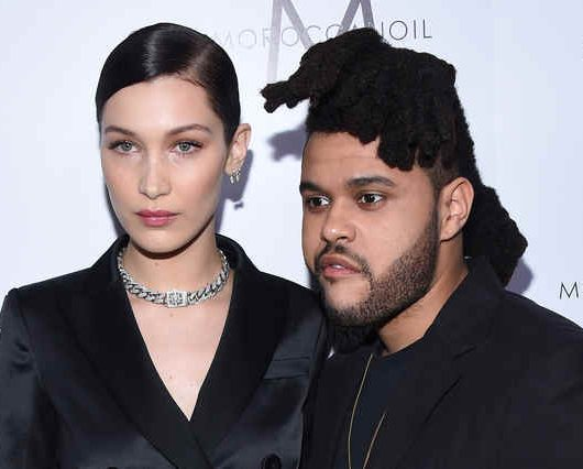 weeknd and bella hadid