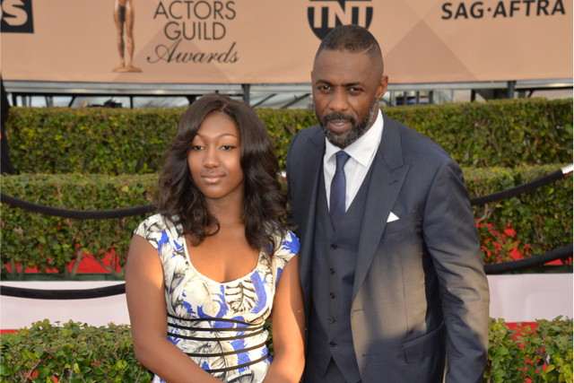 Idris Elba and Isan Elba