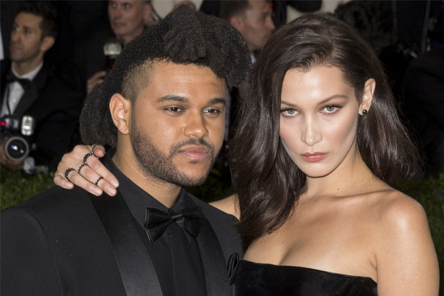 Bella and The Weeknd split