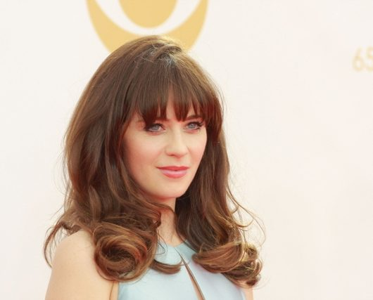 Zooey Deschanel Jacob Pechenik split