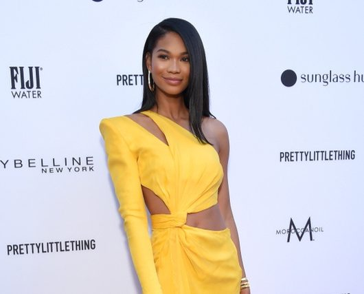 Chanel Iman gives birth