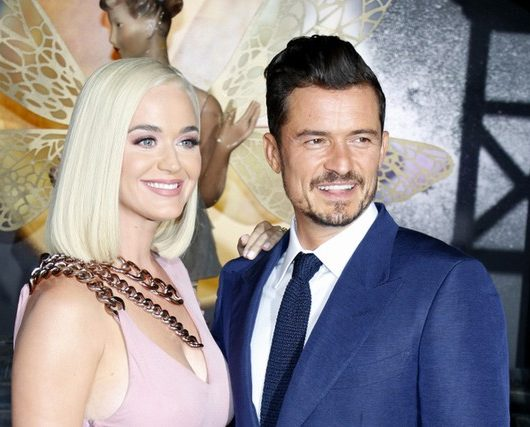 Katy Perry and Orlando Bloom baby