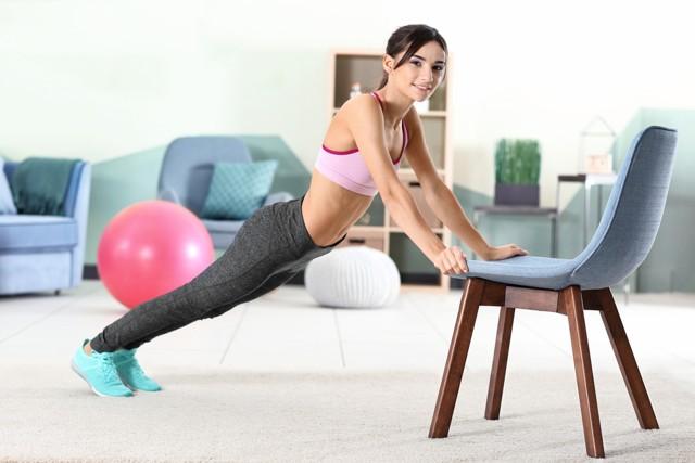 chair push-ups