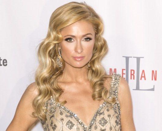 Paris Hilton in love