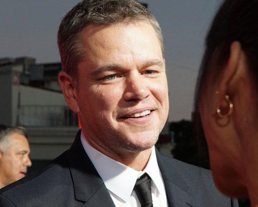 "Matt Damon ""f slur"""